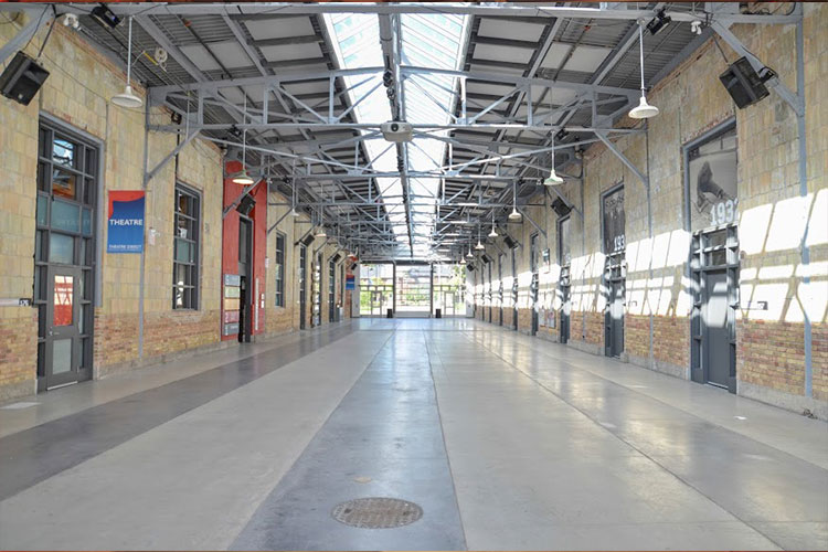 Large open space to rent for events at Artscape Wychwood Barns in Toronto