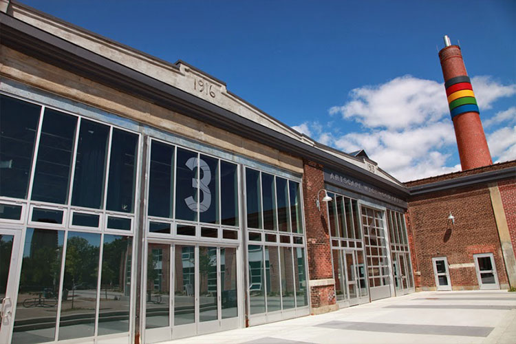 Artscape Wychwood Barns venue space building exterior in Toronto