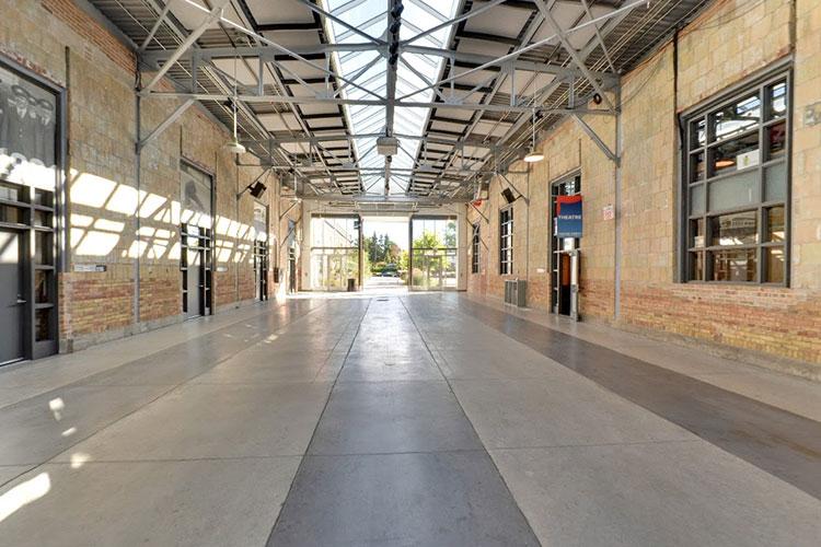 Artscape Wychwood Barns venue rental space interior open concept