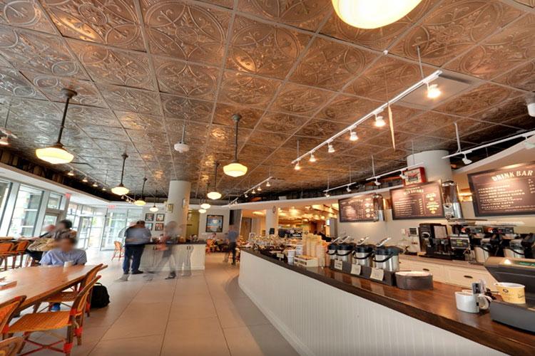 Inside a Balzacs Cafe location in Toronto