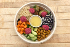 Israeli Power Bowl ready for Encore Catering meal delivery