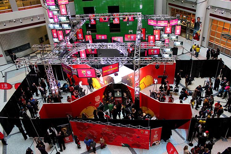 Special event in CBC Atrium venue space in Toronto