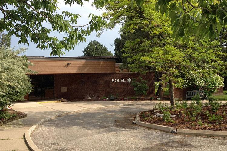 Solel Congregation outside of building