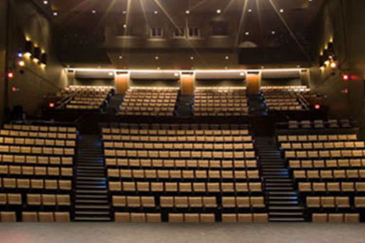 Theatre seating at St. Lawrence Centre venue