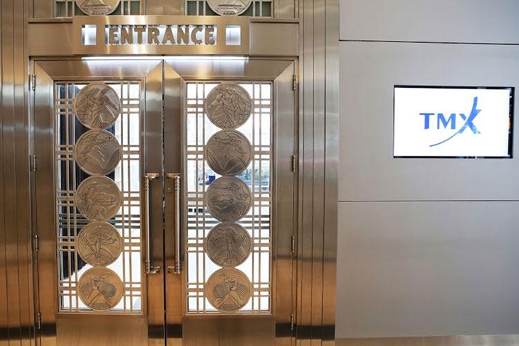 Front entrance to TMX Broadcast Centre event venue