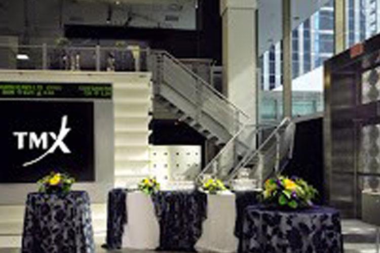 Inside TMX Broadcast Centre for event rentals