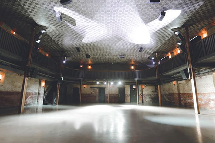 Large open concept room to host an event at The Great Hall venue