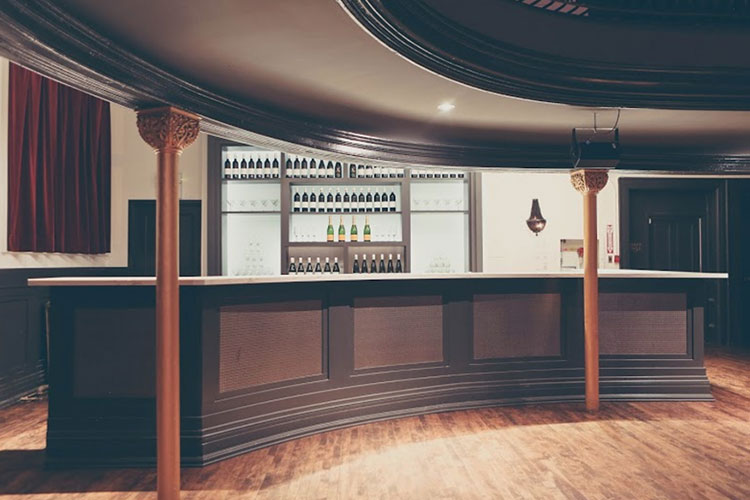 Bar area at The Great Hall event venue rental space